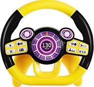 economico -volante giocattoli per seggiolini auto con luci e musica fingere di guidare giocattoli educativi per l'apprendimento di 1 2 3 anni