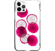 economico -dragon fruit case for apple iphone 12 11 se2020 design unico custodia protettiva antiurto cover tpu clear case for iphone 12 pro max xr xs max iphone 8 7