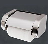 economico -portarotolo di carta igienica nuovo design portarotolo di carta in acciaio inox a parete argenteo 1pz