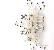 economico -vendita diretta in fabbrica gioielli da sposa lega strass accessori per capelli pettine per capelli matrimonio europeo e americano abito da sposa piastra inserto per capelli accessori pettine