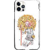 economico -flower girl sword case for apple iphone 12 11 se2020 design unico custodia protettiva antiurto cover tpu clear case for iphone 12 pro max xr xs max iphone 8 7