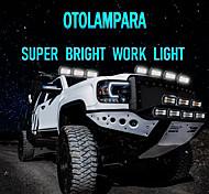 abordables -otolampara 2021 nouvelle arrivée 72w-432w barre lumineuse de travail à led super lumineuse en option ip67 utilisation étanche pour jeep atv utv suv 4x4 4wd 6000k blanc 50000hrs durée de vie cob led