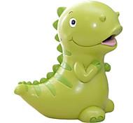 economico -7.5 pollici adorabile verde / giallo a forma di dinosauro di grandi dimensioni in resina salvadanaio salvadanaio salvadanaio migliori regali di compleanno di natale per bambini ragazzi ragazze