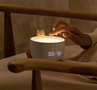 abordables -veilleuse rechargeable usb mignon chat veilleuses chambre lampe de chevet avec télécommande pour enfants cadeau de bébé