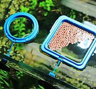 abordables -2 pièces flottabilité poisson nourriture anneau d'alimentation aquarium réservoir de poissons petit type d'alimentation de poissons tropicaux alimentation cercle aquarium accessoires