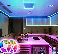 abordables -bande led bande intelligente rgb 20m 10m synchronisation de la musique 5050 bandes changeantes de couleur de 65,6 pieds et 32,8 pieds contrôle d'application bluetooth avec télécommande pour la fête