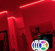 abordables -bandes LED rgb 20m (4x5m) lumières tiktok smd2835 1200 leds bande de 8mm lumière flexible bande LED non étanche dc 12v avec kit de télécommande ir 44key