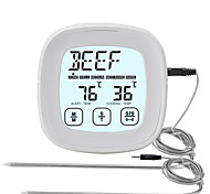 abordables -TS-802A Portable / Elégant Thermomètre BBQ Écran LCD rétro-éclairé, Mesure numérique de la température