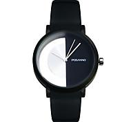 abordables -grand cadran montre femme décontractée demi montre couple creux