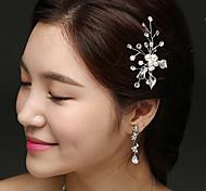 economico -vendita diretta in fabbrica di accessori per capelli da sposa, forcine per capelli con strass di perle tessute a mano, fermagli a forma di U, accessori per copricapo di vendita a caldo