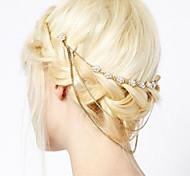 economico -Lusso Matrimonio Lega Accessori per capelli con Lustrini / Dettagli con cristalli 1 pezzo Occasioni speciali / Festa / Serata Copricapo
