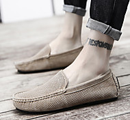 abordables -2018 nouveaux hommes d'été creux respirant bonnet chaussures en cuir personnalité polyvalent chaussures pour hommes chaussures paresseuses chaussures de sport