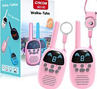 economico -walkie talkie per bambini per bambine di 4-12 anni, regalo per bambini radio portatili a due vie, giocattoli walky talky per bambini a lungo raggio per esterno, campeggio, escursionismo (confezione