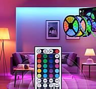 abordables -15m Bande lumineuse LED Ruban LED Ensemble de Luminaires 450 LED 5050 SMD 10mm RGB Télécommande Découpable Intensité Réglable 12 V  Connectible  Pour Véhicules  Auto-Adhésives  Couleurs changeantes  I