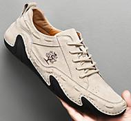 abordables -transfrontalier automne quotidien pois chaussures poulpe coupe basse rétro cuir viscose voiture ligne couleur unie tête ronde tache grande taille