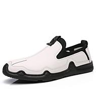 abordables -chaussures en cuir décontractées hommes automne nouveaux hommes mocassins de style coréen mode all-match pédale en cuir chaussures paresseuses marée