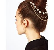 economico -Lusso Elegante Lega Accessori per capelli con Dettagli con perline / Dettagli con cristalli 1 pezzo Occasioni speciali / Festa / Serata Copricapo