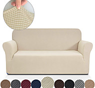 abordables -housse de canapé extensible de haute qualité solide épaissie et épaissie housse de canapé extensible housse de canapé en tissu super doux avec une taie d'oreiller gratuite chaise / causeuse / 3 sièges