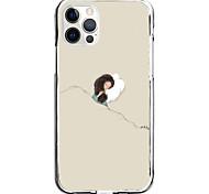 economico -girl on pillow case for apple iphone 12 11 se2020 design unico custodia protettiva antiurto cover tpu clear case for iphone 12 pro max xr xs max iphone 8 7
