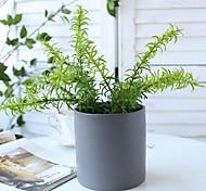 economico -simulazione fiori di piante acquatiche simulazione felce di pino simulazione fascio di piante grasse 1 ramo 26 * 10 cm