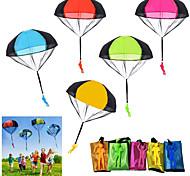 economico -paracadute giocattolo 10 pezzi giocattoli volanti per bambini groviglio lancio libero lancio della mano paracadute esercito uomo lancialo e guarda l'atterraggio giocattoli all'aperto per i regali dei