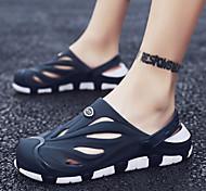 abordables -chaussures trou hommes 2021 été nouvelles pantoufles de maison en plein air légères et confortables sandales à double usage