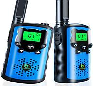 abordables -talkies-walkies pour enfants, jouets pour garçons et filles de 5 à 12 ans 22 canaux radio 2 voies garçon adolescent meilleurs cadeaux pour anniversaire, aventures en extérieur et camping bleu