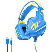 abordables -OVLENG GT61 Casque Gamer Prise audio USB 3,5 mm Conception Ergonomique Rétractable Stéréo LA CHAÎNE HI-FI pour Ordinateur PC