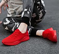 abordables -printemps et été pour hommes extra-large taille 45 chaussures en maille tissée à la mouche 46 plus élargissement d'engrais 47 petites chaussures rouges toutes assorties chaussures de course
