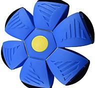 economico -disco volante palla magica deformazione luce ufo con 3 luci giocattoli volanti decompressione di sfiato per i regali dei bambini (blu)
