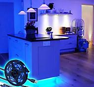 abordables -bande de lumières led ensemble étanche 17 touches de rétro-éclairage de la télévision à distance bande led rgb 5050 5v usb bande de ruban led éclairage de polarisation pour écran hdtv bureau pc