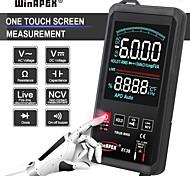 economico -multimetro digitale touch screen 6000 conteggi ac dc tensione ncv true rms misuratore di capacità di resistenza alla temperatura multimetri automatici