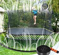 economico -Irrigatore a trampolino, irrigatore a trampolino addensato per giochi d'acqua per bambini, divertenti giochi estivi per parchi acquatici all'aperto, nuovo connettore di aggiornamento accessori per
