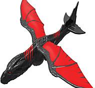 economico -aereo aliante del drago, aeroplano volante in styro-foam per bambini, nero