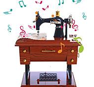 economico -Scatola musicale Sewing Machine 1 pcs Regalo Decorazioni per la casa Resina Per Per bambini Per adulto Ragazzi e ragazze