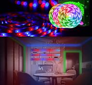 abordables -bandes lumineuses à LED (3x5m) 15m 2835 bande lumineuse rgb couleur changeante lumières de corde kit d'éclairage à bande flexible avec télécommande à 44 touches