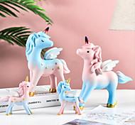 economico -ornamenti da ragazza unicorno soggiorno armadietto da vino ornamenti da tavolo regalo ragazza