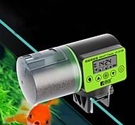 abordables -Distributeur automatique intelligent d'alimentation de poissons d'aquarium de réservoir de poissons de réservoir de poissons automatique avec l'affichage à cristaux liquides indique les accessoires