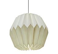 abordables -Usine directe transfrontalière créative abat-jour en papier étude chambre lampe de chevet maison couverture de papier décoratif