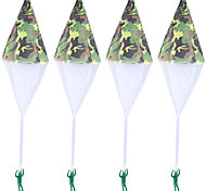 cheap -4 pcs Parachute Toy Tangle Free Throwing Toy Mini Soldier Parachute Toy Outdoor Childrens Flying Toys