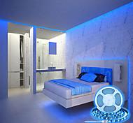 abordables -bandes lumineuses à LED 16,5ft 5m couleur spéciale jaune chaud bleu glacier rose 300leds smd 5050 bande lumineuse avec variateur tactile kit de barre lumineuse adaptateur 12v