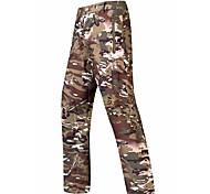 abordables -Homme Pantalon tactique Chaud Etanche Coupe Vent Respirable Automne Hiver Printemps camouflage Toison Coquille Souple Pantalons / Surpantalons Pantalons Chauds Bas pour Ski Camping / Randonnée Chasse