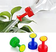 economico -5 pz tappo di bottiglia sprinkler plastica in pvc irrigazione calibro ugello piccolo sprinkler testa irrigazione verdure nebulizzatore ugello