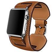economico -Cinturino intelligente per Apple  iWatch 1 pcs Banda di affari Vera pelle Sostituzione Custodia con cinturino a strappo per Apple Watch Serie SE / 6/5/4/3/2/1