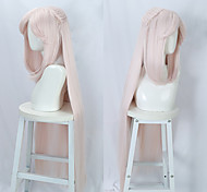 economico -original god original god cover moon tianquan rosa chiaro cos parrucca anime