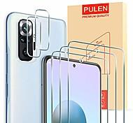 economico -telefono Proteggi Schermo Per XIAOMI Mi Note 10 Mi Note 10 Pro Mi Note 10 Lite Vetro temperato 5 pezzi Alta definizione (HD) Anti-graffi Proteggi-schermo frontale Appendini per cellulare