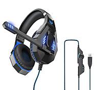 """economico -OVLENG Q10 Cuffie da gioco """"Jack audio USB da 3,5 mm"""" PS4 PS5 XBOX Design ergonomico Retrattile Stereo per Apple Samsung Huawei Xiaomi MI PC"""