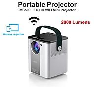 economico -imc500a nuovo modello 2000lm proiettore lcd led android porjector per l'intrattenimento e l'istruzione domestica halloween christmas party support 1080p 4k video
