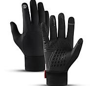 economico -guanti da ciclismo, guanti termici sottili invernali unisex touch screen guanti da corsa antiscivolo guanti da guida fodera calda per l'uso quotidiano lavoro escursionismo arrampicata caccia
