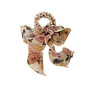 abordables -petite perle fraîche fleur cassée bande de cheveux bande de caoutchouc fille coréenne bande de cheveux ruban foulard en soie bande de cheveux femme attachée cheveux anneau de cheveux